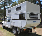 4 Wheel Campers Flat Bed Camper on Ute Bed